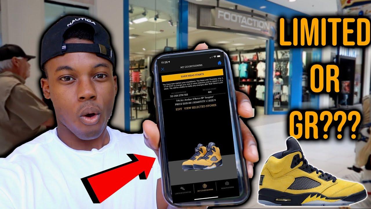huge discount c4754 d8269 Air Jordan 5 Michigan 10 Minutes Head Start At Footaction Vlog!