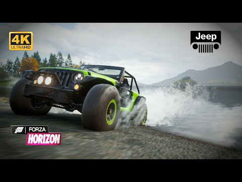 OFF Road Testing with Jeep TrailCat in 4K - Jeep Wrangler Unlimited Gameplay