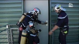Pompiers: un centre de formation hi-tech!