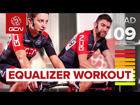 40 Minute Sprint Intervals: Sufferfest's 'Equalizer'   Indoor Cycling Workout