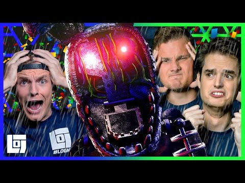 The Joy of Creation [FNAF] met Enzo, Ronald en Don | Let's Play | LOGNL