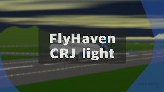 ROBLOX | FlyHaven CRJ 700 Flight