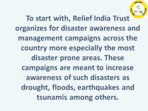 Relief India Trust- An Indian NGO With Transparent System