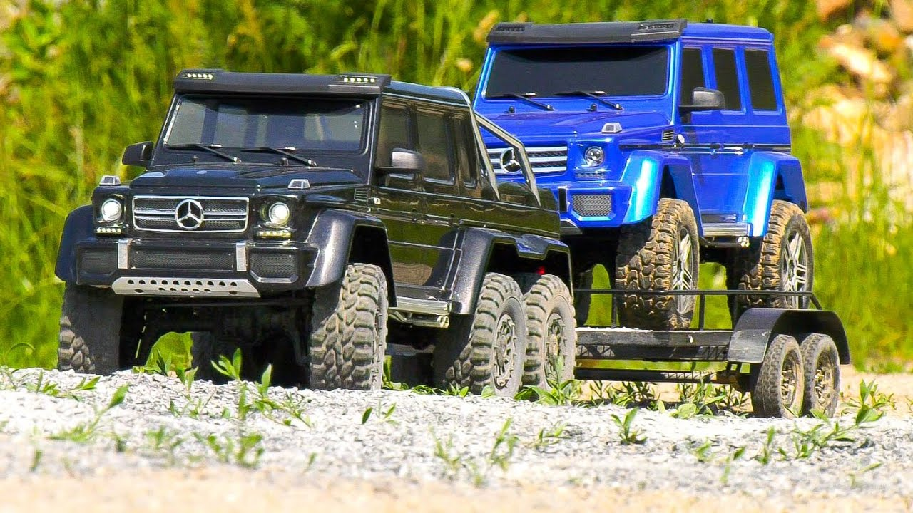 MEGA RC MODEL CRAWLER COMPILATION!! TRAXXAS TRX-6 MERCEDES-BENZ G63 AMG, RC TRAIL CARS