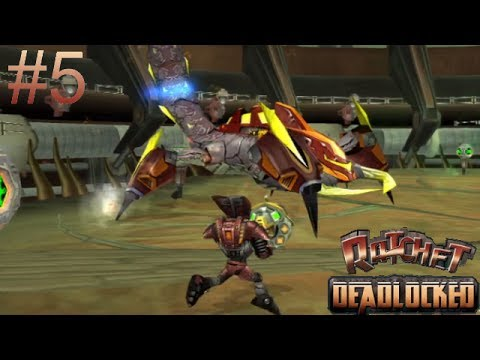 Let's Play Ratchet: Deadlocked Part 05: The HD Planet