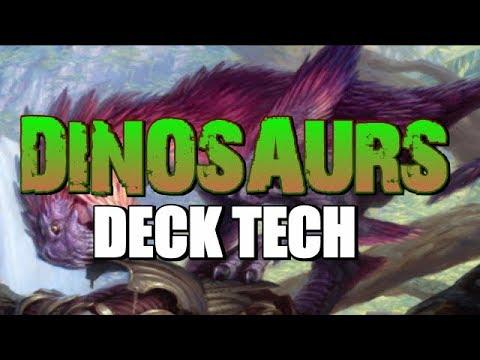 Mtg Deck Tech: R/G Dinosaurs in Ixalan Standard!