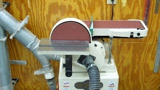 Shop Fox W1676 Disc Belt Sander - Bearing Replacement