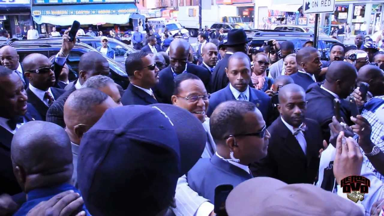 Minister Farrakhan Gets Love From Brooklyn