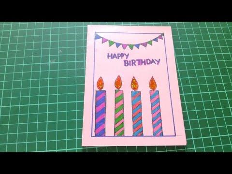 Happy Birthday Cards for Friends Handmade