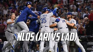 MLB | 2017 NLDS Highlights (LAD vs ARI)