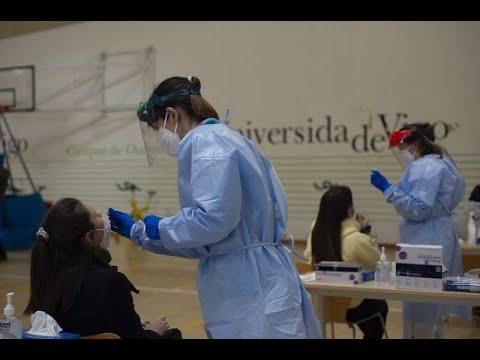 Cribado a los universitarios de Ourense
