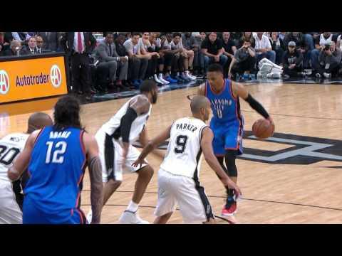 Durant and Westbrook Duel LaMarcus Aldridge in San Antonio