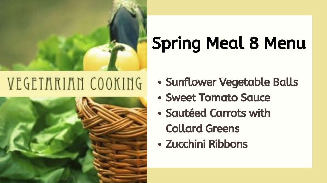 Vegan Recipe for Spring: Sunflower Vegetable Rolls, Sauce, and Vegetables