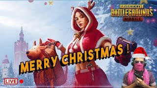 Merry Christmas PUBG LIVE MOBILE INDIAN Pro Like DYNAMO GAMING, RON GAMING, MORTAL, pubg mobile lite