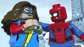 LEGO Marvel Super Heroes 2 Walkthrough Part 2 - Avenger's World Tour