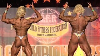 WFF World Championship 2016 - Women Extreme Body Comparisons