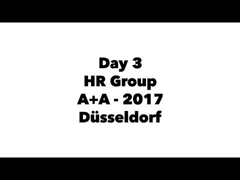 Day 3 | HR Group | A+A - 2017 | @Düsseldorf