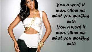 Watch Kelly Rowland Work It Man video