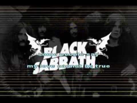 Black Sabbath N I B Karaoke