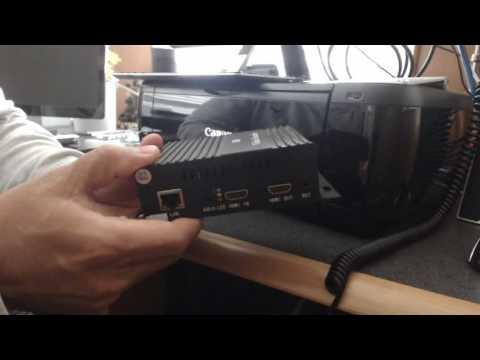 Live Streaming Hardware Encoder
