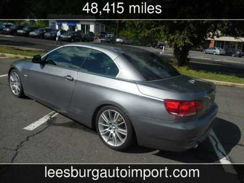 2010 Bmw 335i Convertible Used Cars Leesburg Virginia 2017 04 26