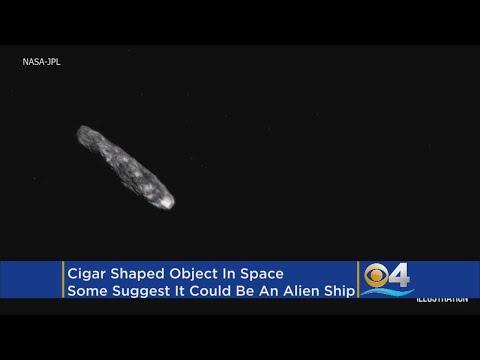 Is Mysterious Interstellar Object 'Oumuamua' An Alien Spaceship?