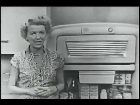 Westinghouse 1951 Refrigerator commercial