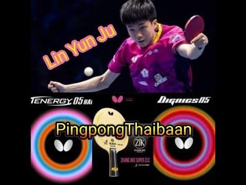 Zhang Jike Super ZLC Blade With Tenergy 05 Hard + Dignics 05 Review   PingpongThaibaan