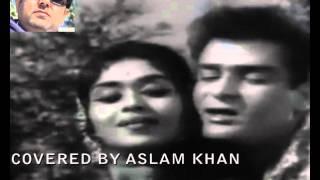 Teri zulfein pareshaan KARAOKE by aslam khan