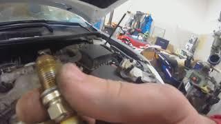 Замена свечей зажигания Тойота Камри 2.5