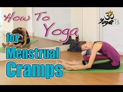 yoga for beginners  alleviate menstrual cramps yoga for