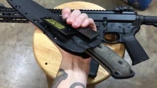 1 gun 1 knife for shtf vr to bza rza gza