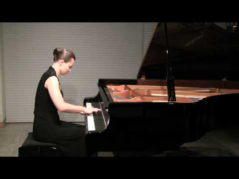 Anna Shelest plays Beethoven 6 Variations on an Original Theme in F major, Op. 34 part 1/2