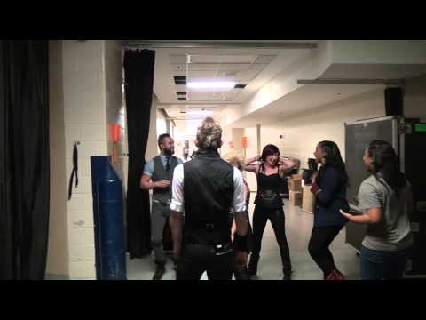 Skillet Backstage at Omaha Civic Auditorium - Backstage Entertainment
