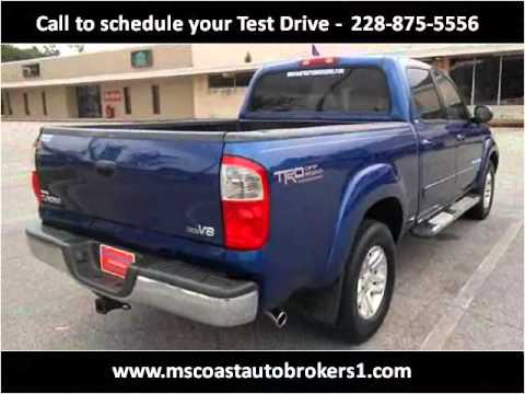 2006 Toyota Tundra Used Cars Ocean Springs MS