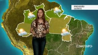 Previsão Norte - Grande amplitude térmica