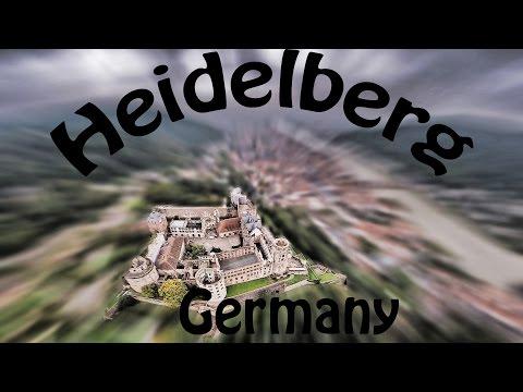 Heidelberg Schloss und Stadt, Deutschland - Heidelberg Castle, Germany