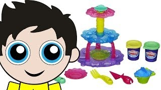 Play-Doh Cupcake Tower Sweet Shoppe Playset featuring Play-Doh Plus!