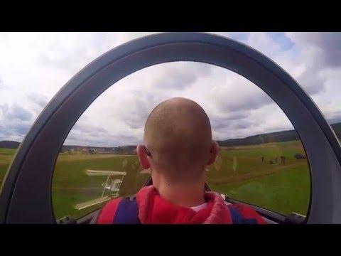 Segelfliegen beim Flugverein Schwabach. GoPro HD