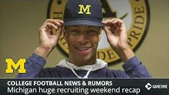 College Football News: Michigan Recruiting Update, 2020 QB Recruit To Alabama, CTE Blamed For Death