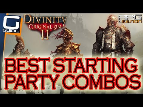DIVINITY ORIGINAL SIN 2 - Ultimate Starting Party