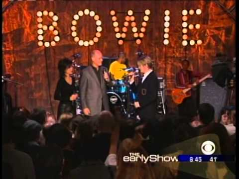 David Bowie - Early Show 2002