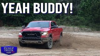 Getting Muddy in Texas with 2019 Ram Rebel and Air Suspension
