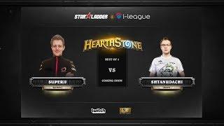 [RU] SuperJJ vs ShtanUdachi | SL i-League Hearthstone StarSeries Season 3 (26.05.2017)