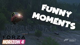 Funny Moments and Fails in Forza Horizon 4