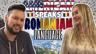 American REACTS // Romanian Language