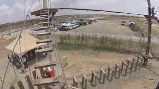 Aerial Walk in Action at SandBox