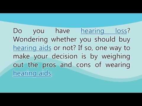Ledesma Audiological Center Inc. - Advantages and Disadvantages of Hearing Aids