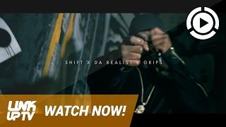 Shift x Da Realist x Grips - Keep Hustling [Music Video] @RealDBoyShift | Link Up TV