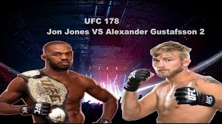 UFC 178 Jon Jones VS Alexander Gustafsson 2 - Fight Prediction